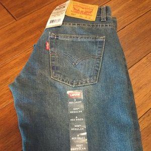 Boys Levi 505 jeans
